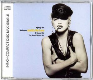 JUSTIFY MY LOVE (HIP HOP MIX) - GERMANY CD SINGLE